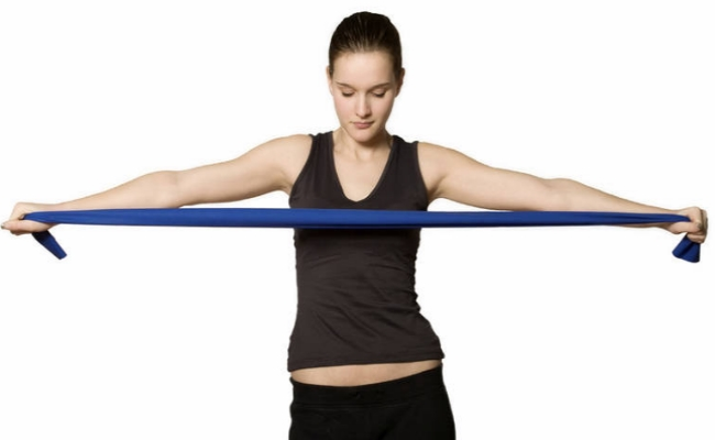 Resistance Band Exercise to Help Build Stronger Shoulders