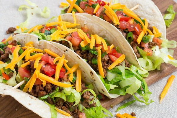 Easy Griddle Beef Tacos
